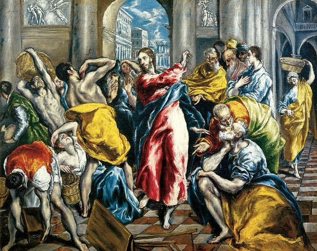 """Continue the Conversation: El Greco, """"Purification of the Temple"""""""