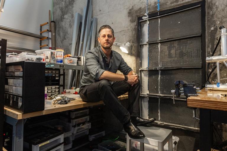 Drink in Design: Joel Krieger of Second Story