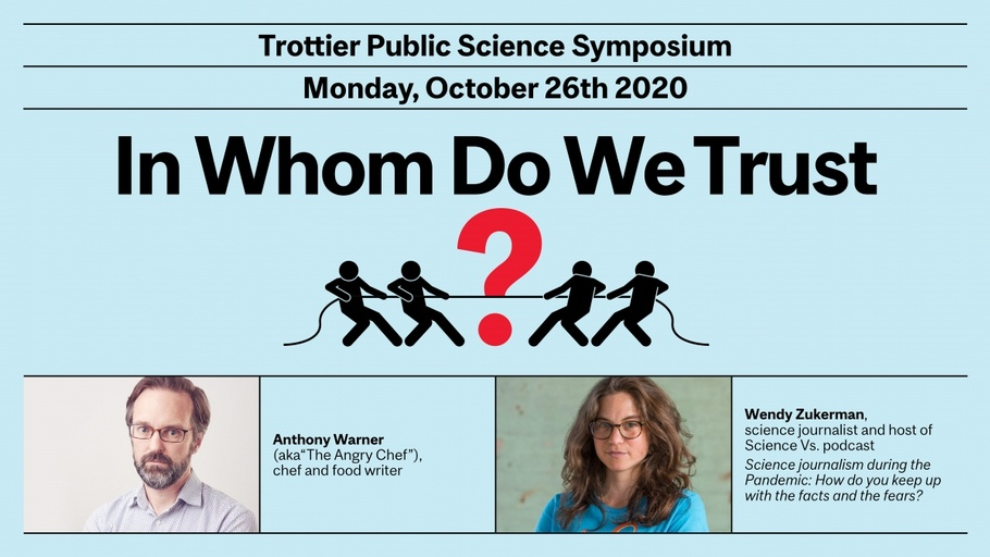 In Whom Do We Trust featuring Anthony Warner & Wendy Zukerman