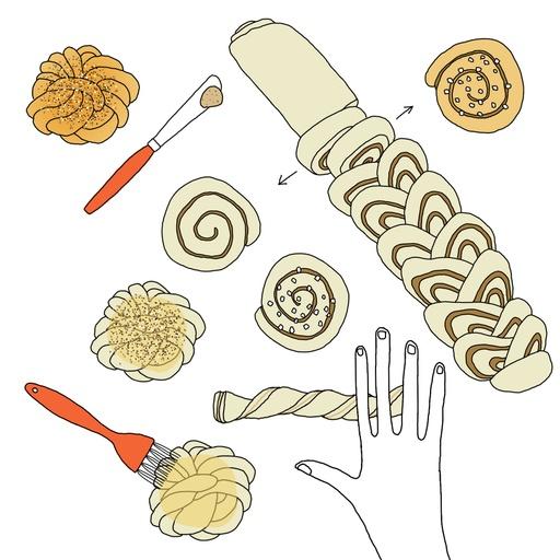Flavors of Sweden: Cinnamon Buns Three Ways
