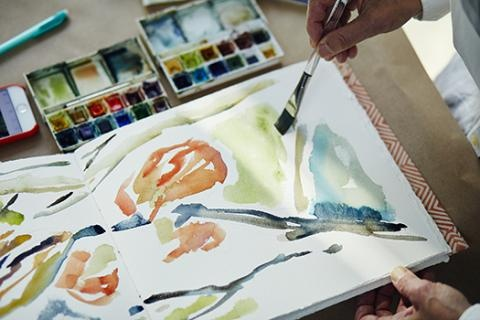 Contemporary Watercolor