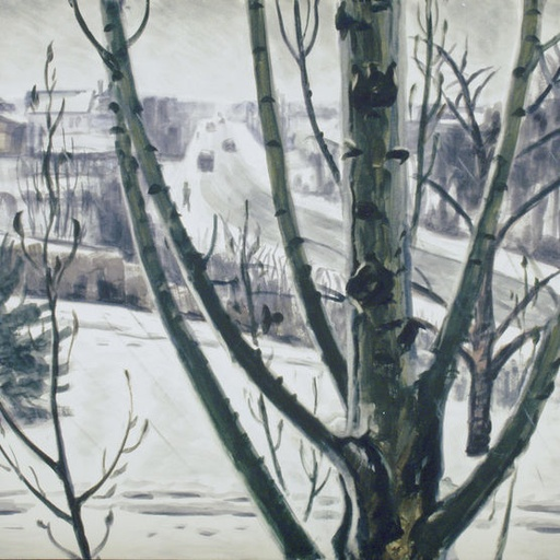 Drawing from the Collections: Capturing a Winter Scene