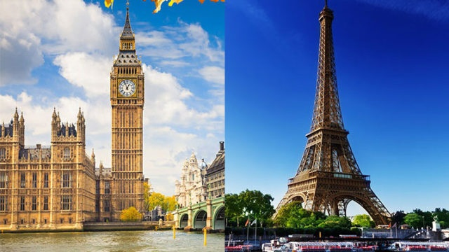A Tale of Two Cities: The Art, Culture and History of London and Paris