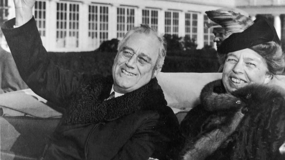 Franklin & Eleanor Roosevelt: America's First Power Couple
