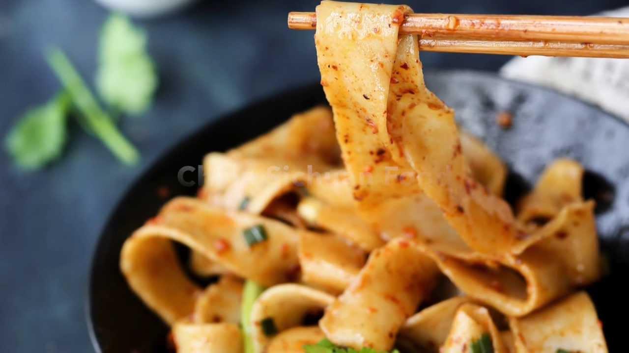 Handmade Asian Noodles: Belt Noodles