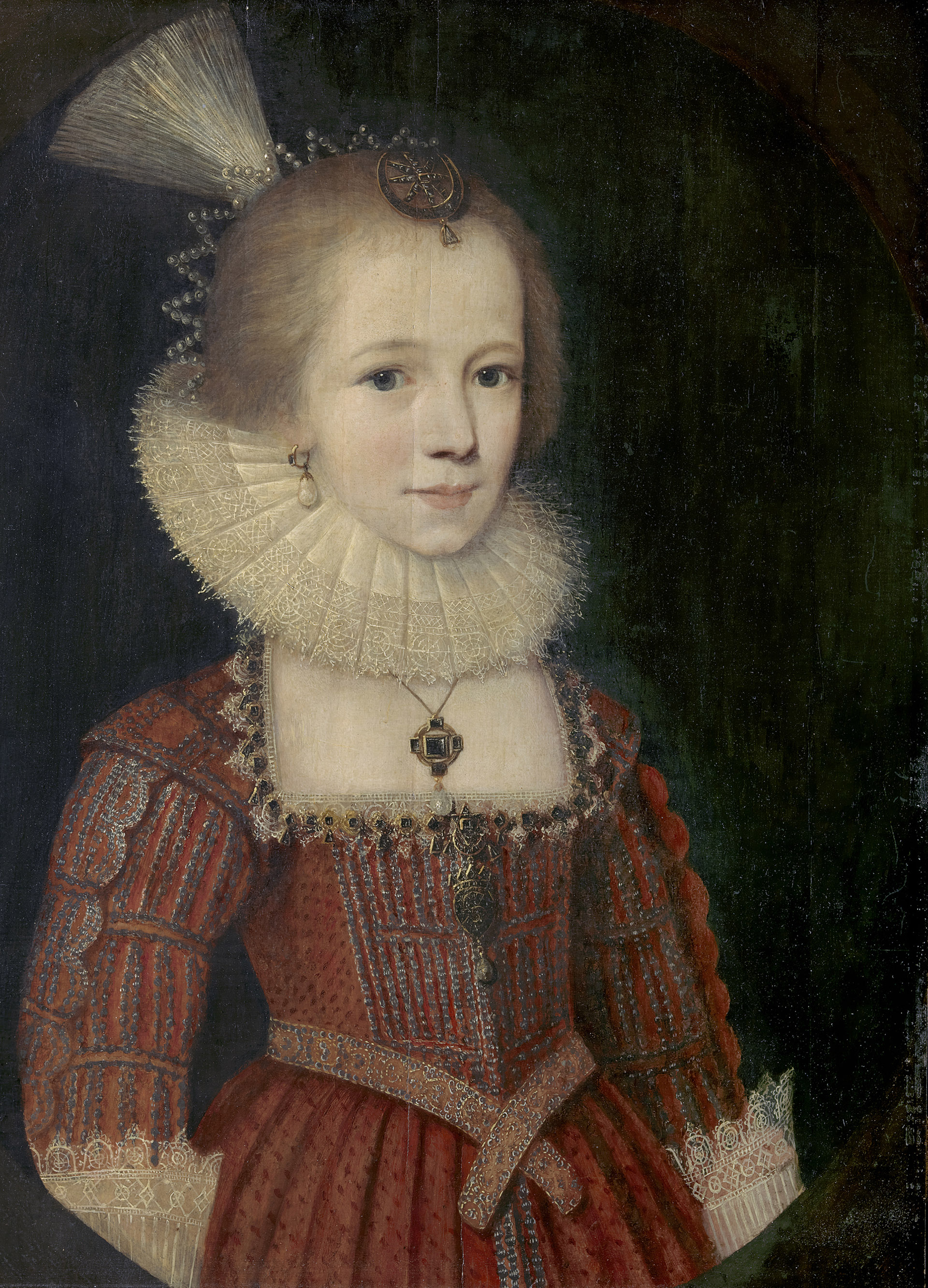 "The Conservation of an Orphaned Portrait: Paul van Somer's ""A Young Girl"""
