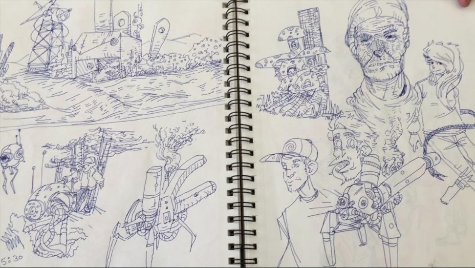 Creative Sketchbooking