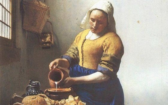 Drawing Together: Vermeer