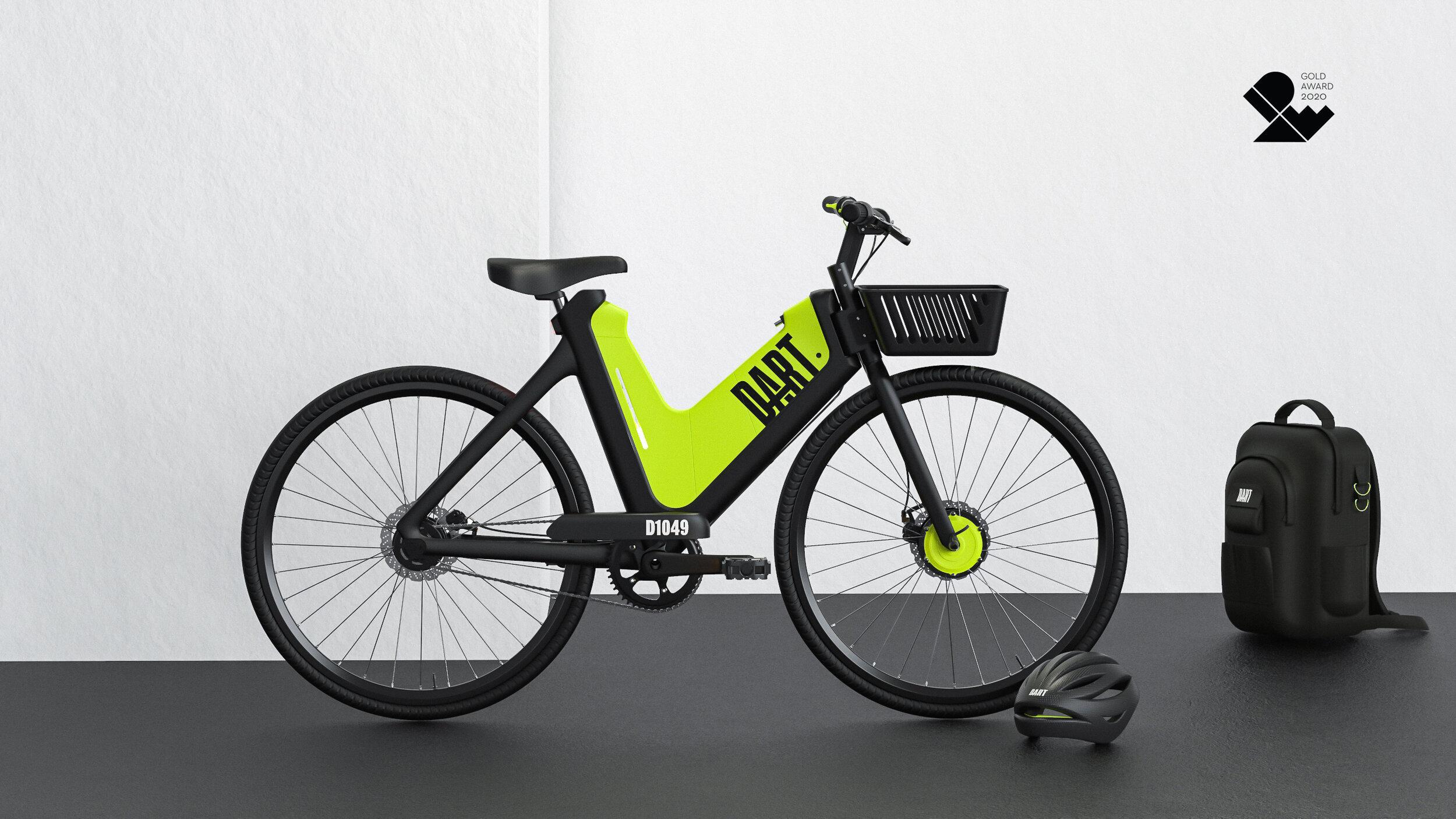 Design = Change: Georgia Tech on Designing the Dart Electric Ride Share Bike