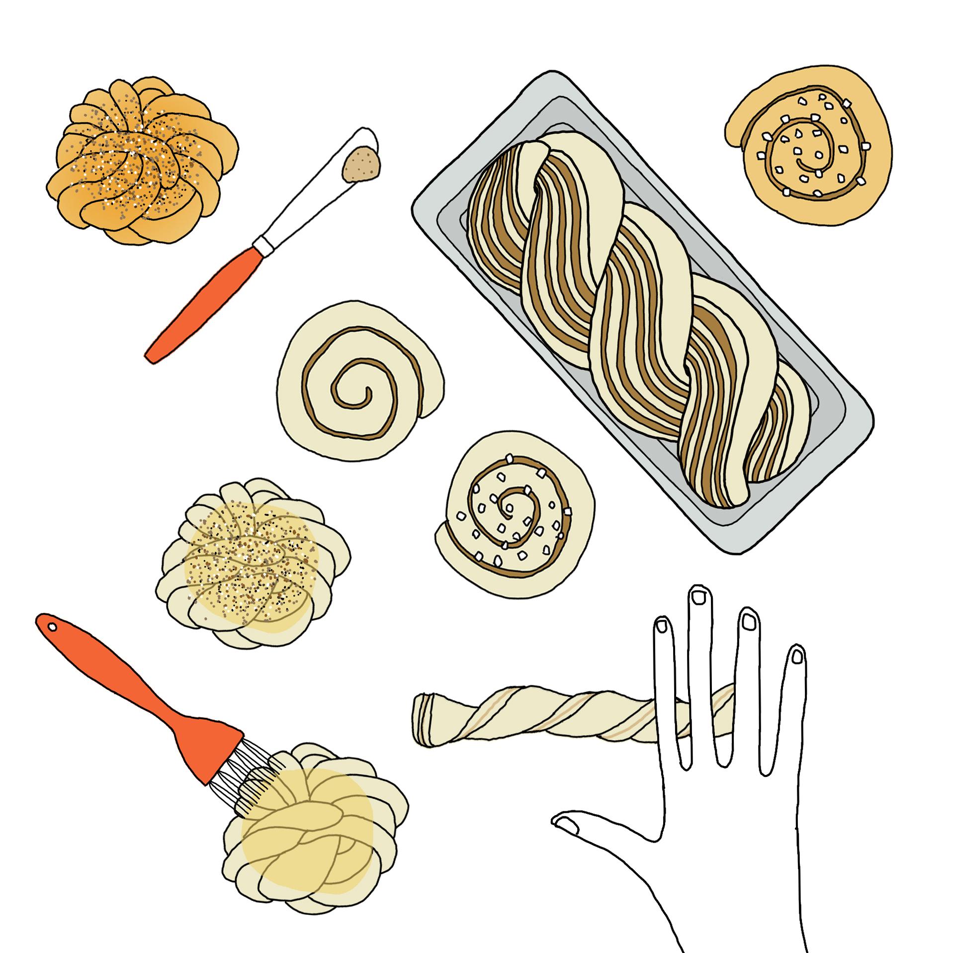 Flavors of Sweden: Cinnamon Buns, Three Ways