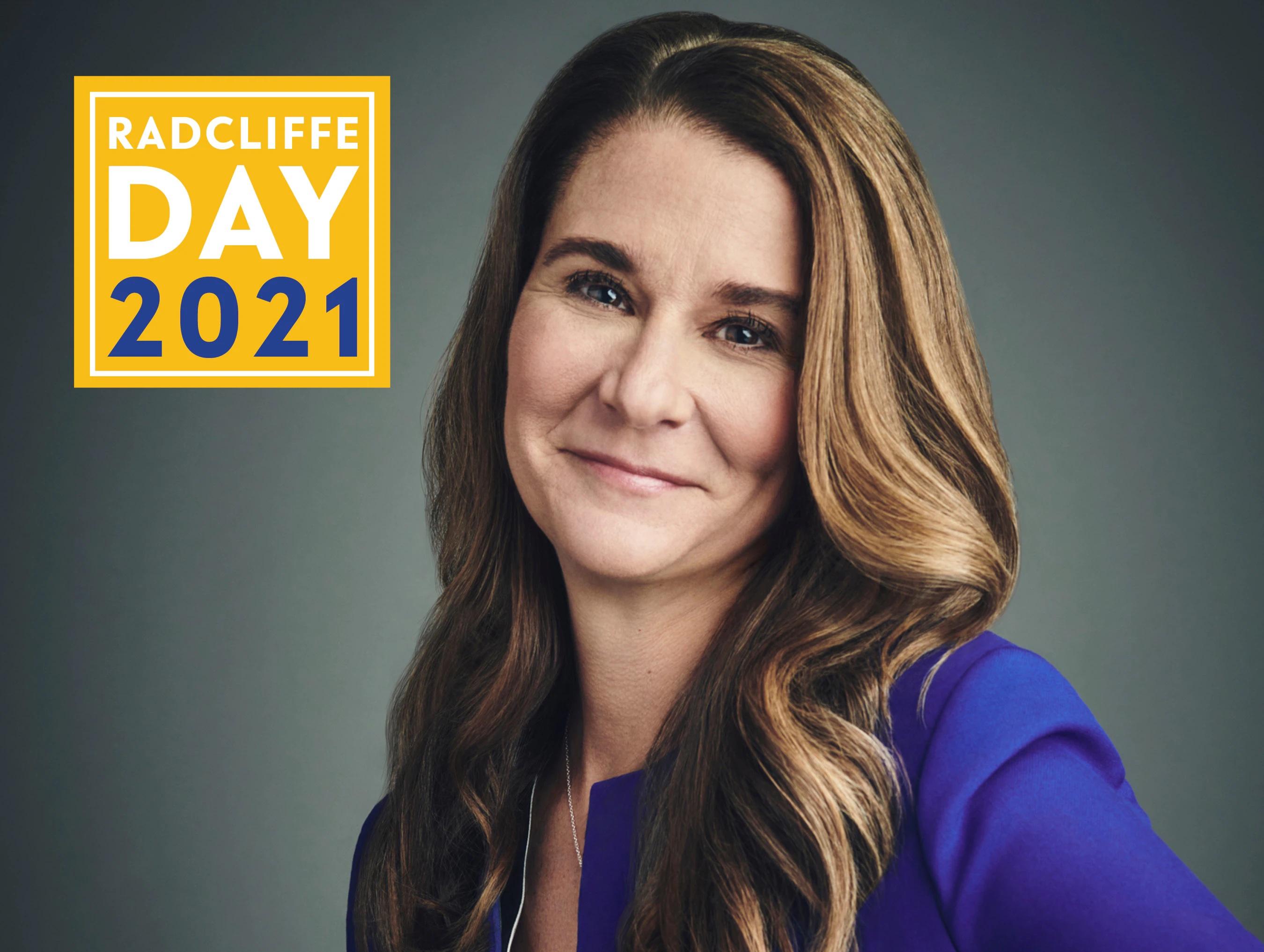 Radcliffe Day 2021: Melinda Gates