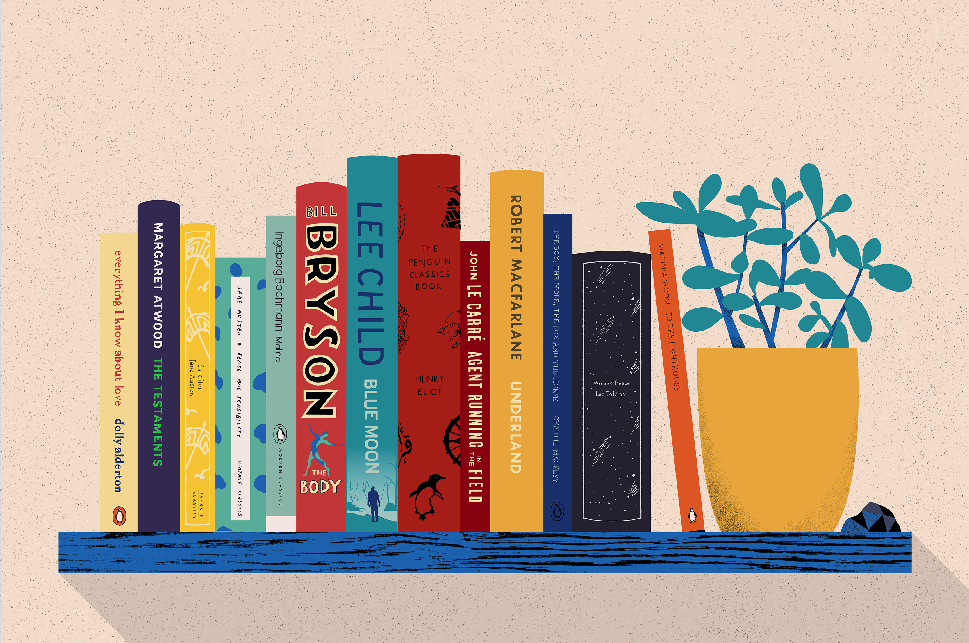 The Five Great Works of Fiction You Need to Read…Now!