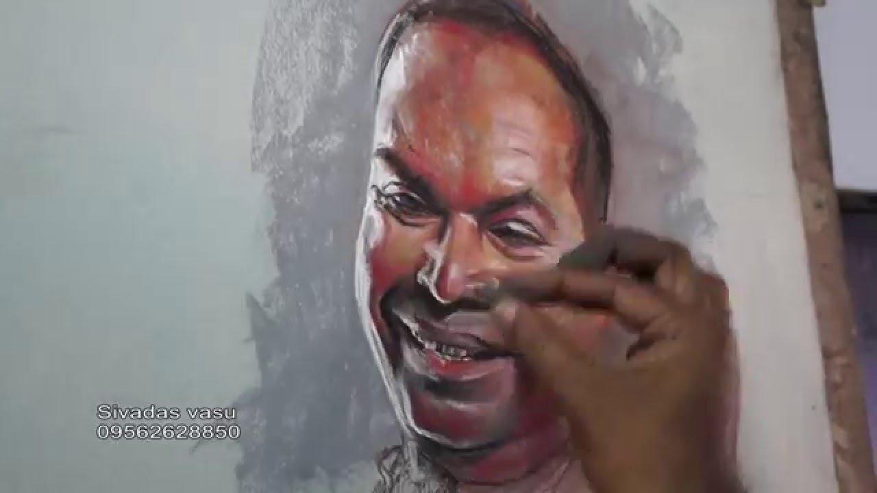 Virtual Workshop: Chalk Pastel Portraiture
