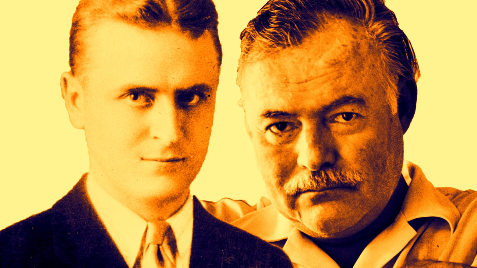 Reading Hemingway and Fitzgerald