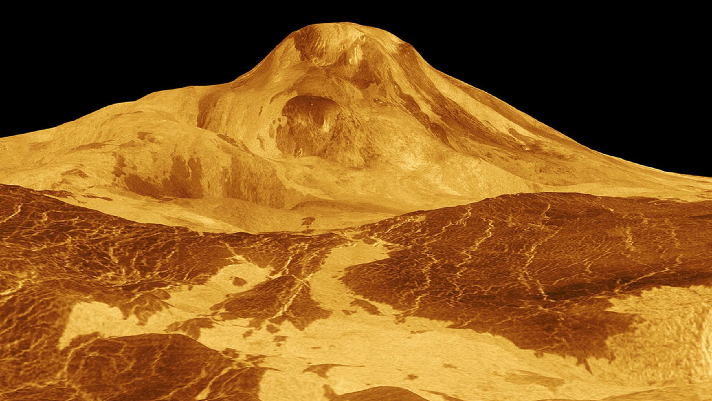 Frontiers Lecture: Volcanic Worlds
