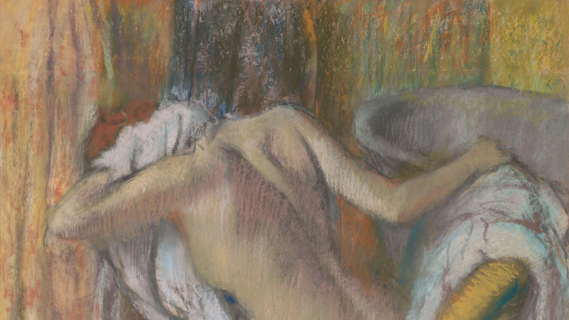 "Talk and Draw: Degas's ""After the Bath"""