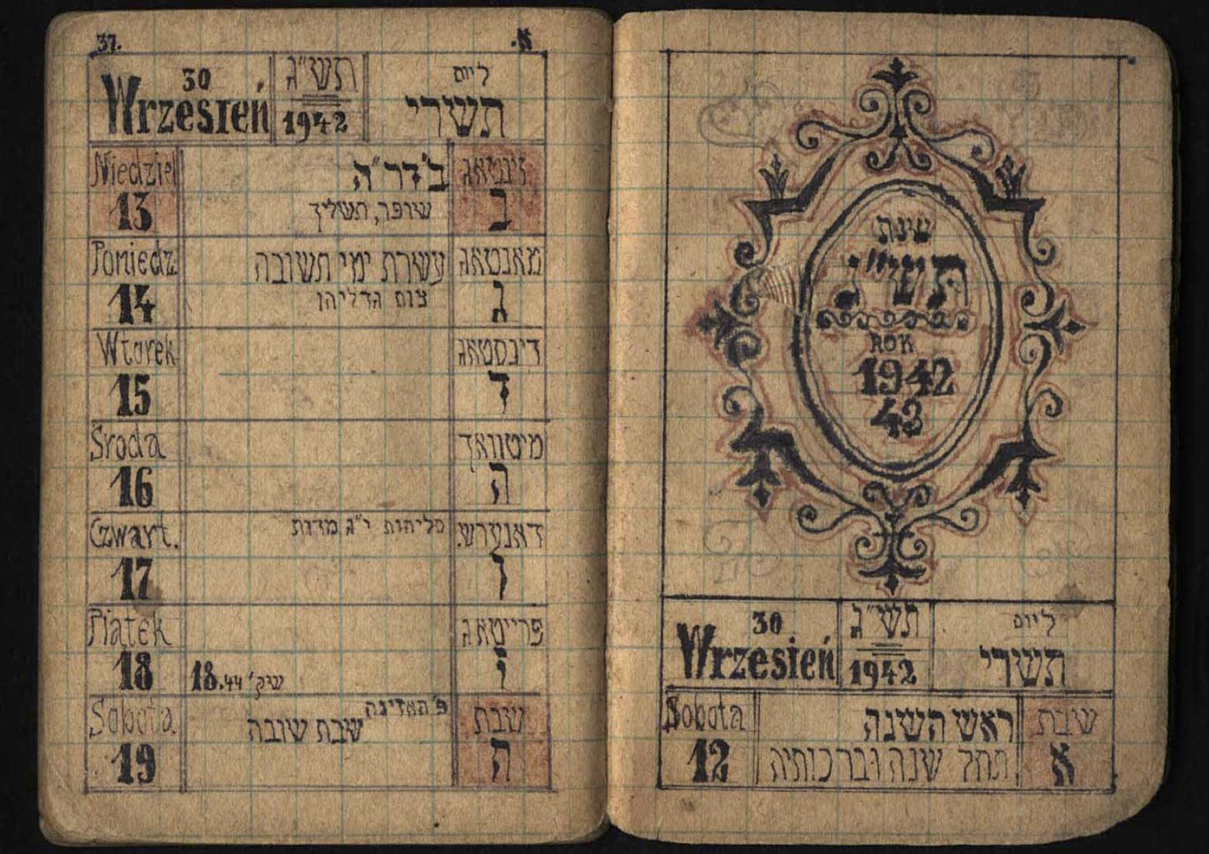 How the Holocaust's Jewish Calendars Bear Witness