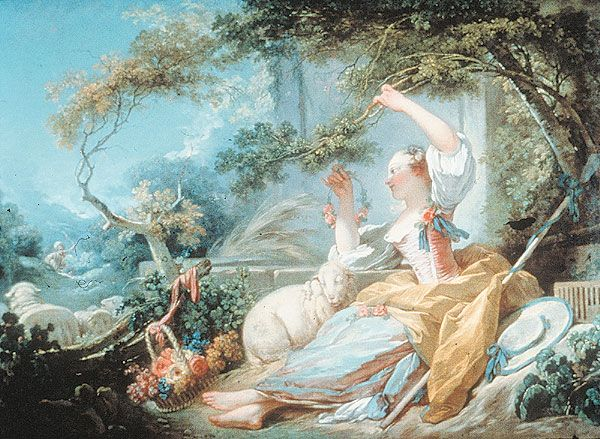 Art through the Ages: Rococo to Impressionism