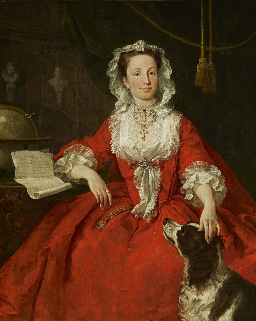 """Continue the Conversation: Hogarth's """"Miss Mary Edwards"""""""