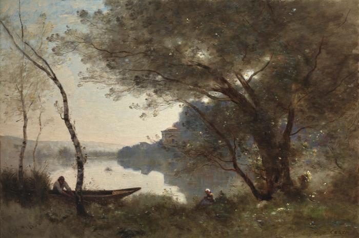 Drawing Together: Corot