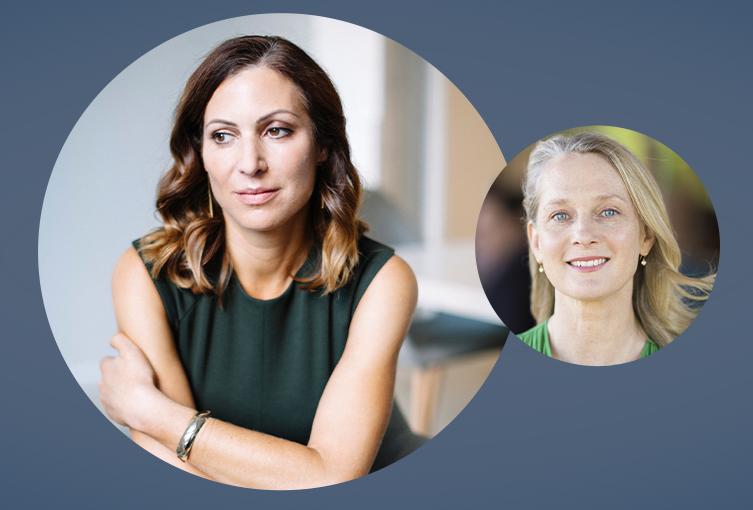 Lara Bazelon with Piper Kerman: A Good Mother