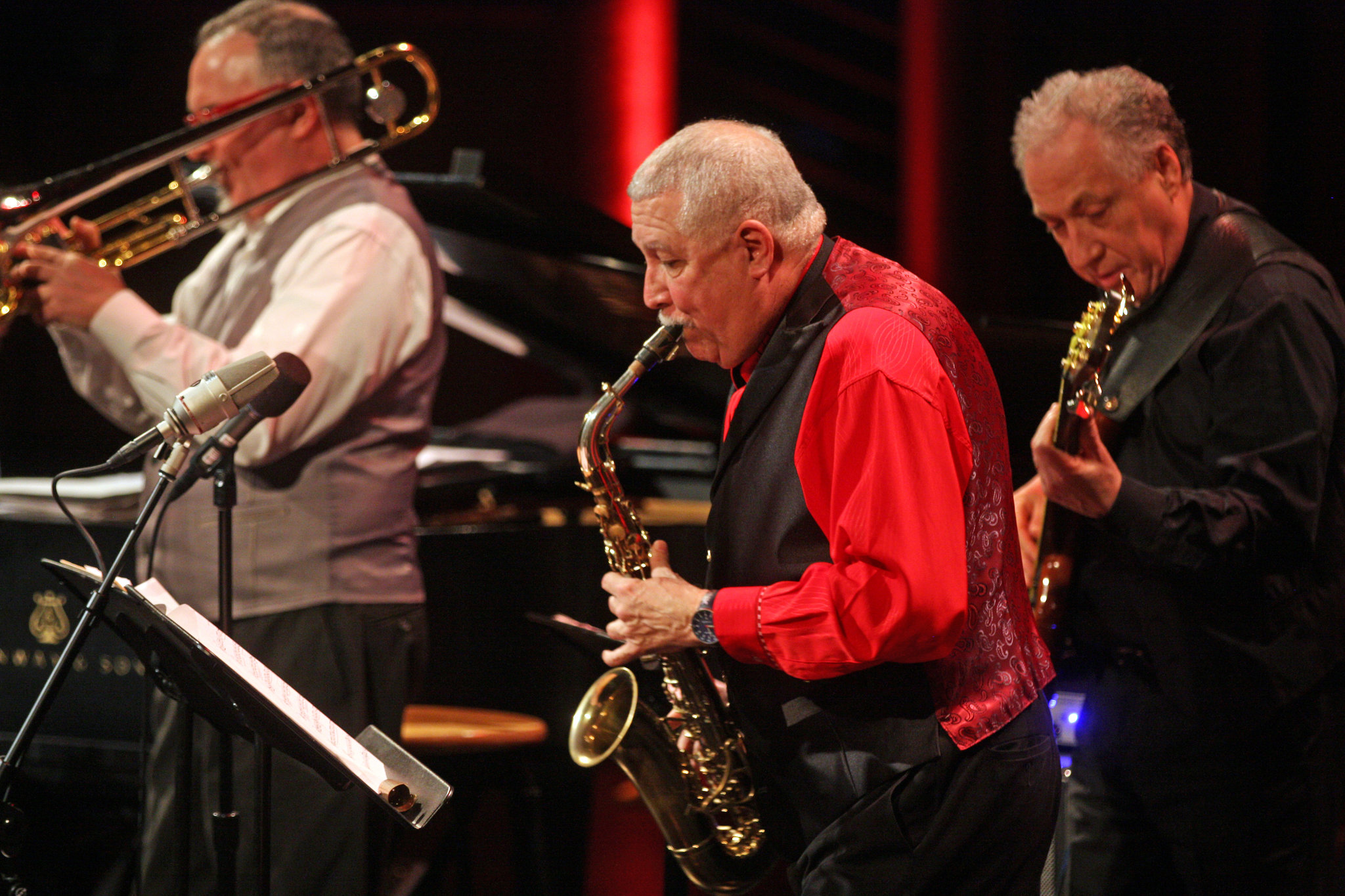 Live from Dizzy's Club: Paquito D'Rivera and Alex Brown