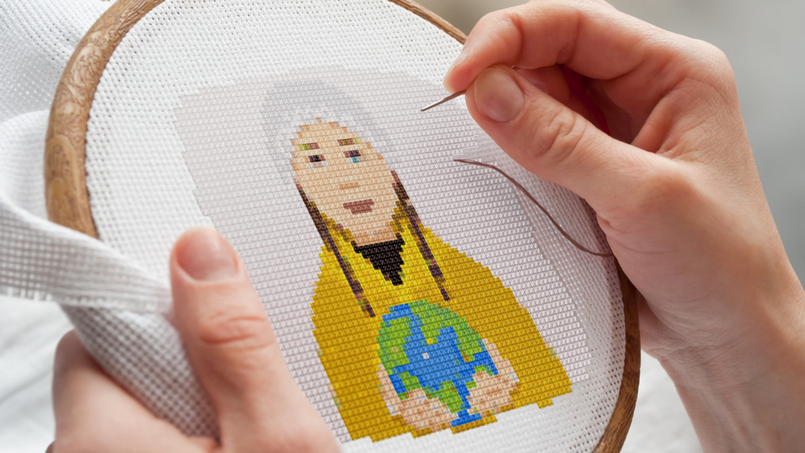 Craftivism 101 with Bad Ass Cross Stitch - Feminist Icons