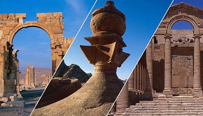 Human Heritage: Preserving Palmyra, Petra, and Hatra