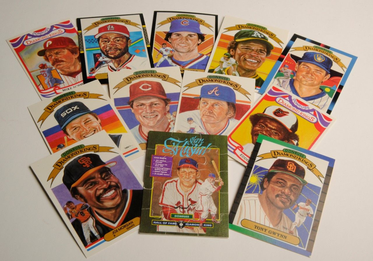 Pop Culture Through Baseball Cards
