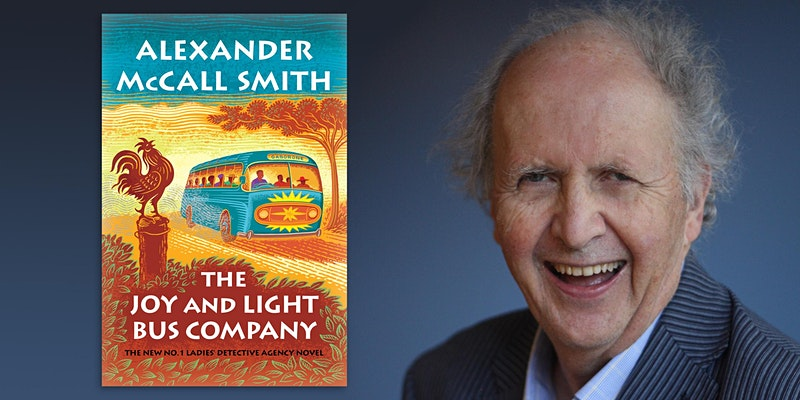 Live from Prairie Lights: Alexander McCall Smith in Conversation with Joshilyn Jackson