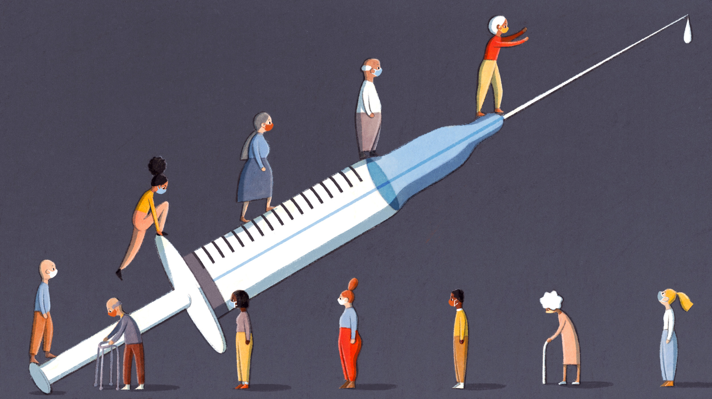 Pursuing Equity for the COVID Vaccine
