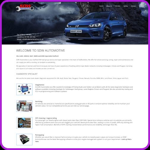 project sdw automotive
