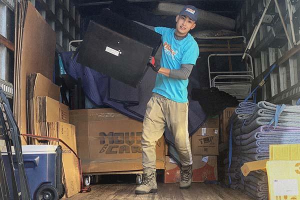 A local mover in Boston