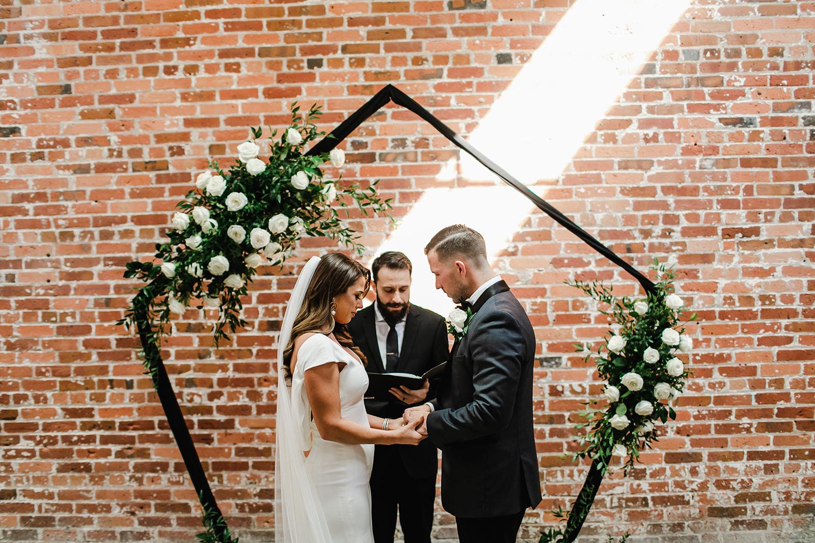 Victoria + Seth's Daytime Wedding Ceremony