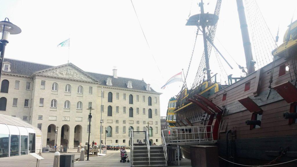 Museu Marítimo Amsterdam The BRave New Life