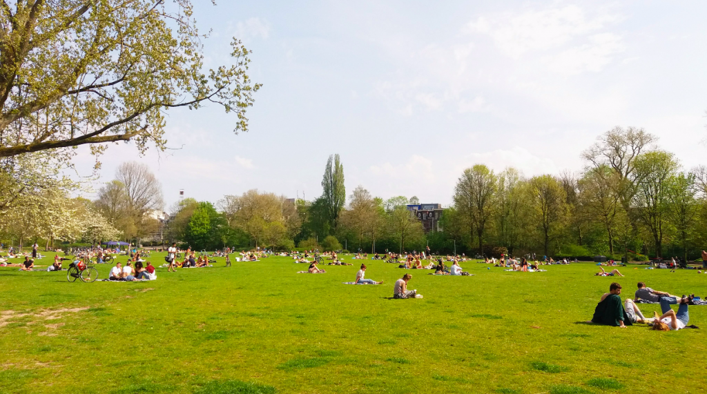 Oosterpark, Amsterdam, The Brave New Life
