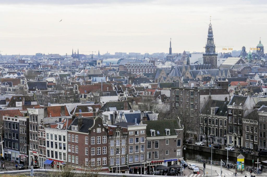 Amsterdam Holanda The Brave New Life