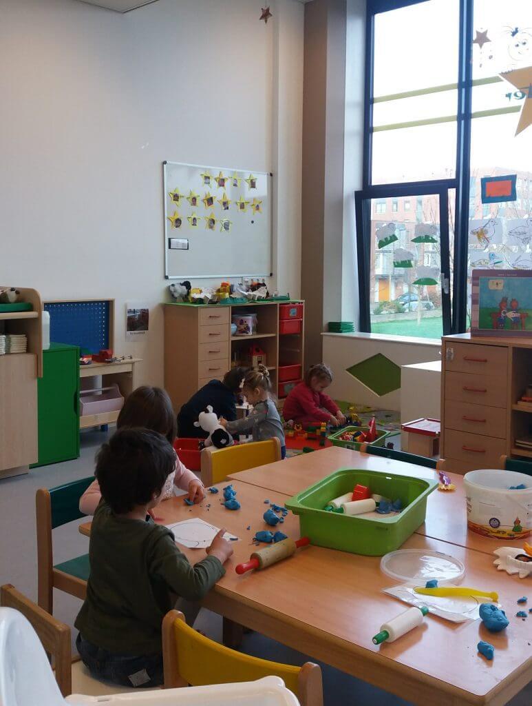 Sala de aula na Holanda