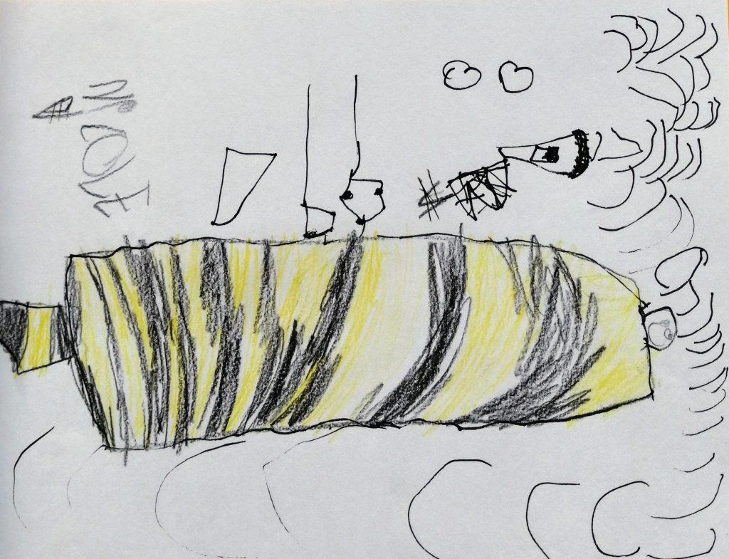 Desenho de Criança The Brave New Life Gisele Medeiros