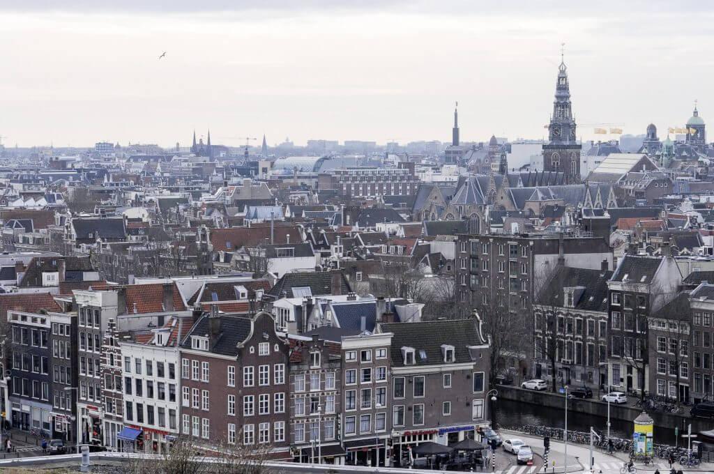 Vista de Amsterdam, Skyline Amsterdam, Amsterdão, Amsterdã