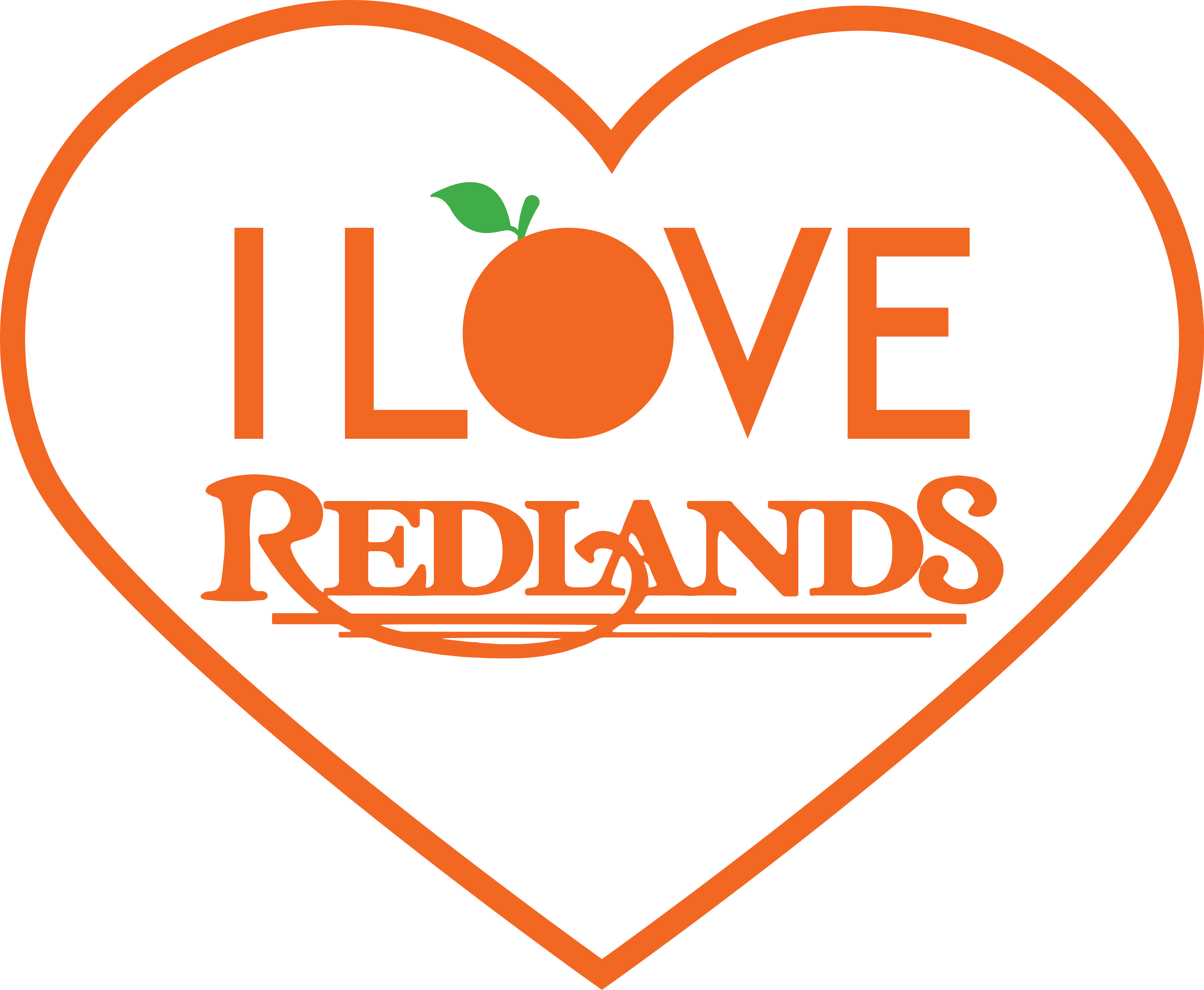 This is the logo seen on the Local REDLANDS Card.
