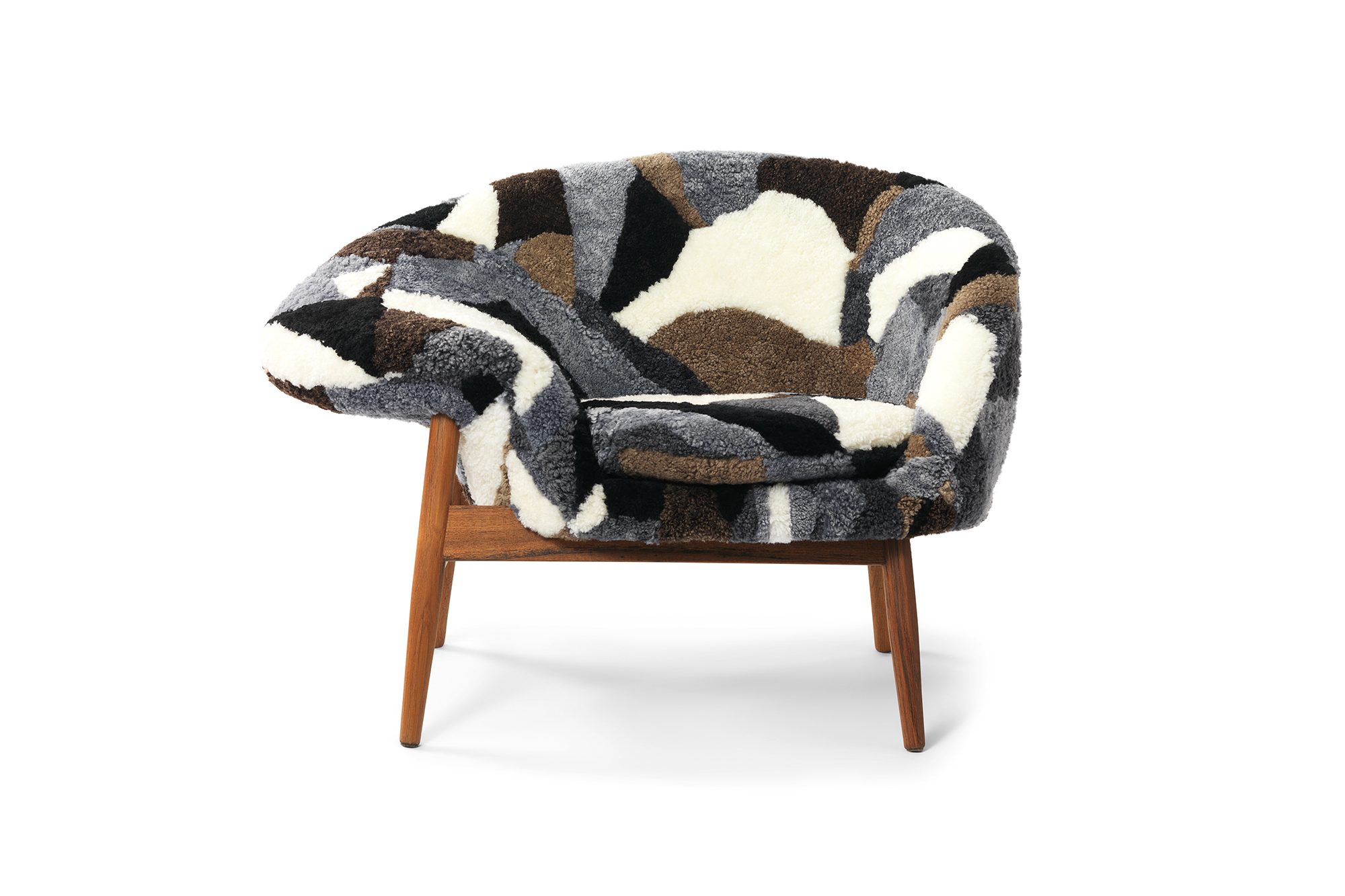 Fried Egg Sheep Chair