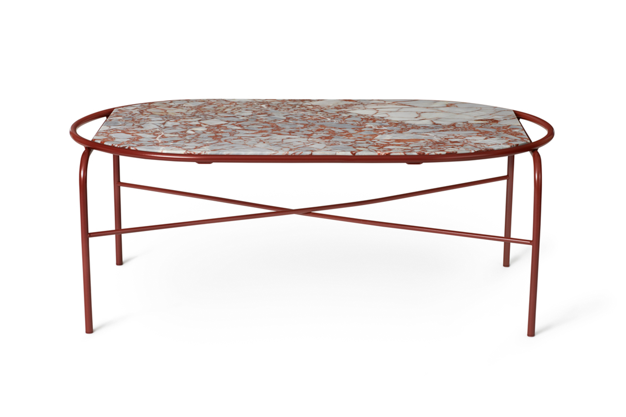 Oval Secant Table