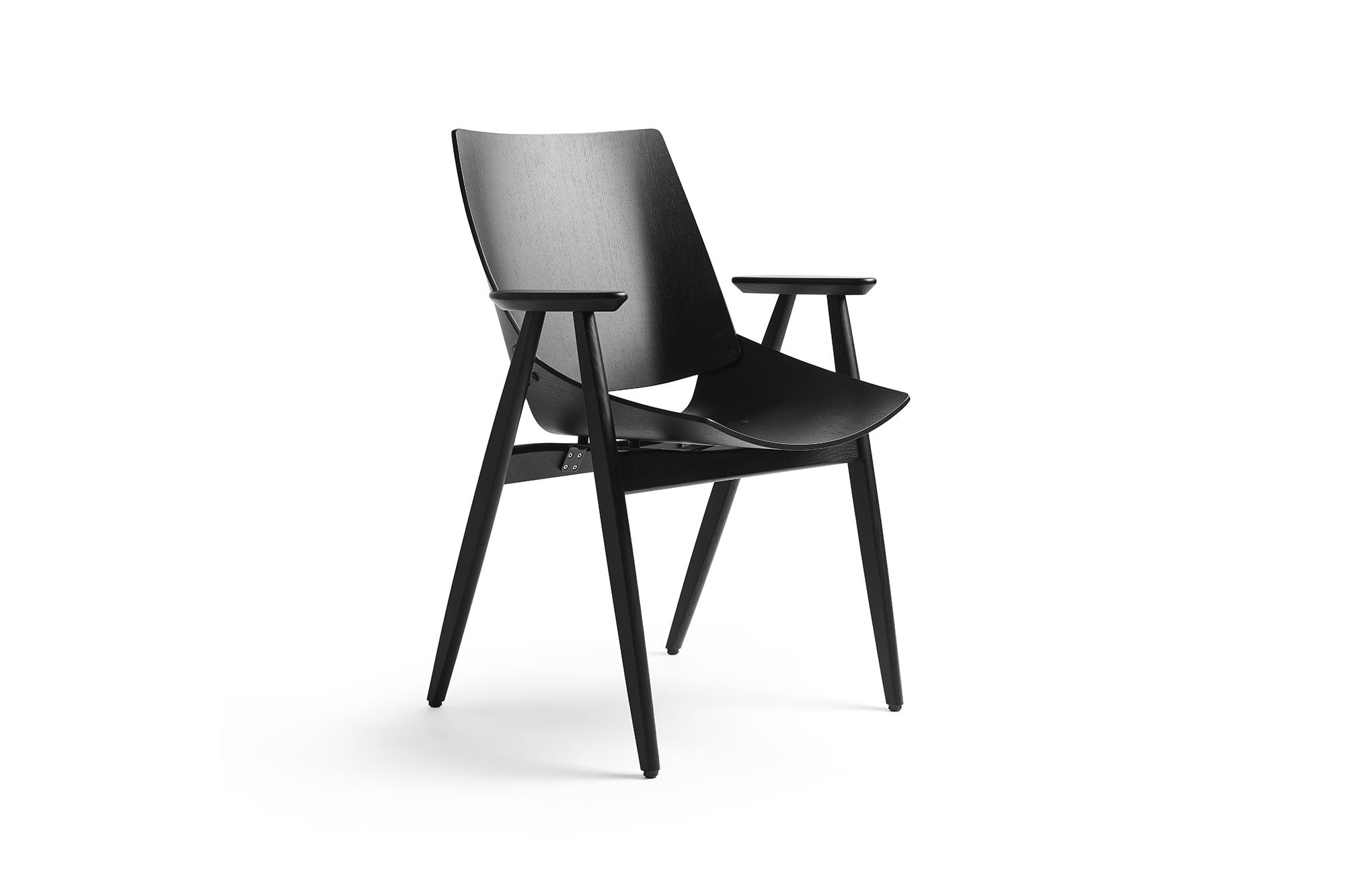 Shell Wood Armchair