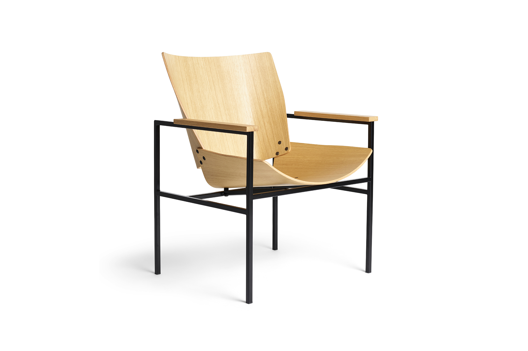 Shell Square Armchair