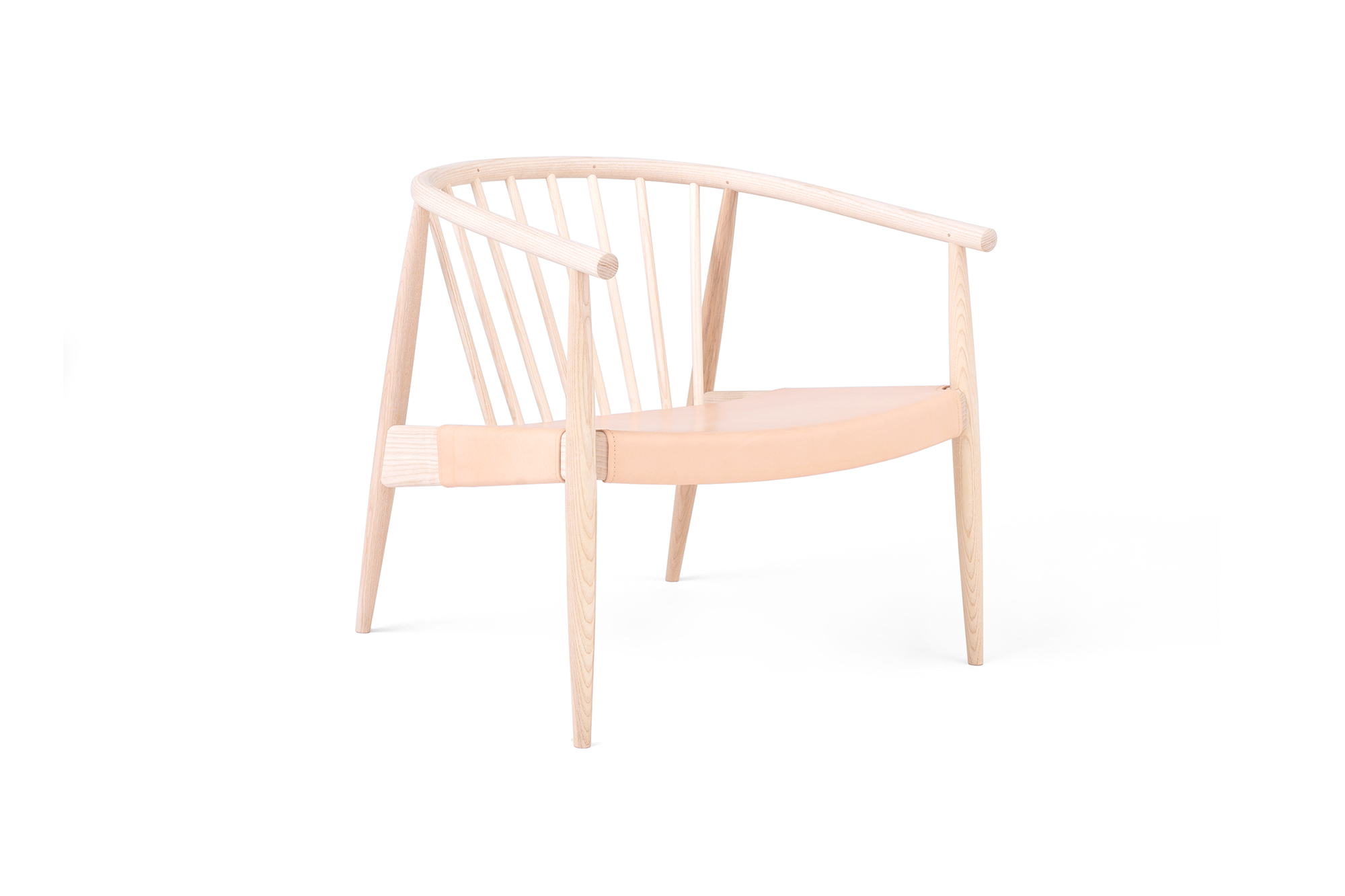Reprise Chair with Hide Seat