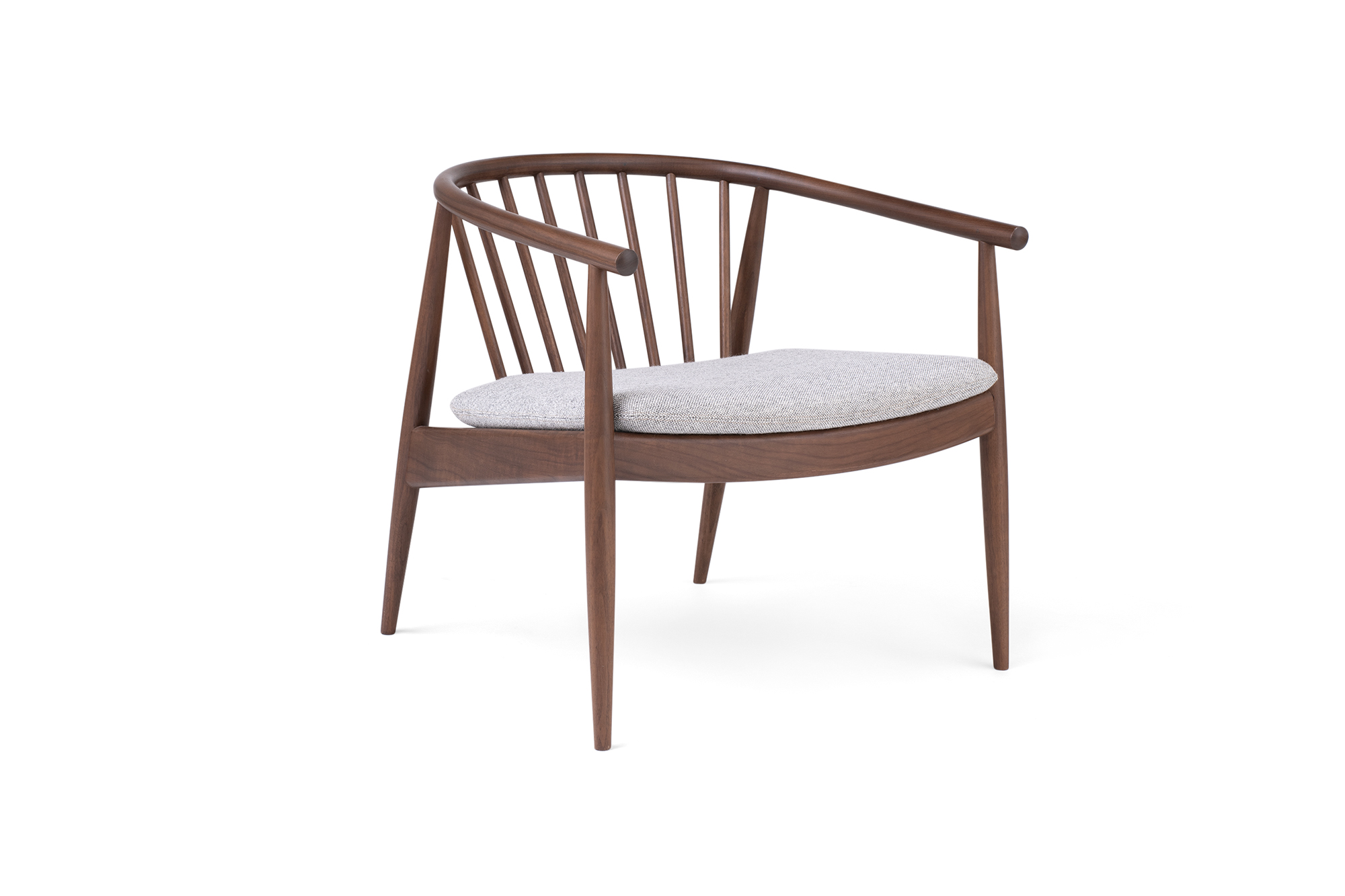 Reprise Chair with Upholstered Seat