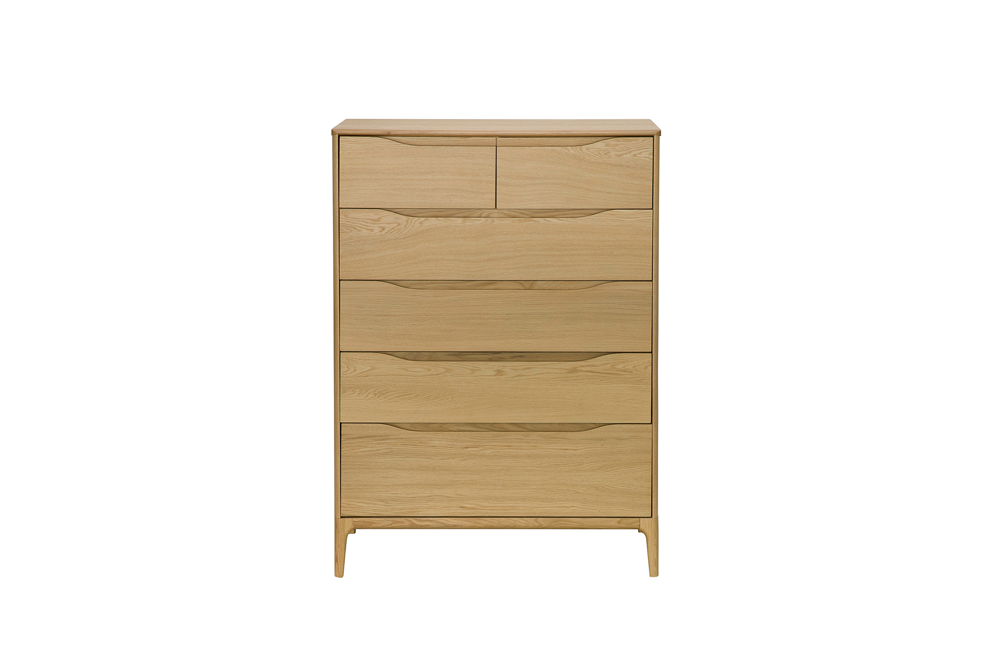 Rimini 6-Drawer Tall Wide Chest