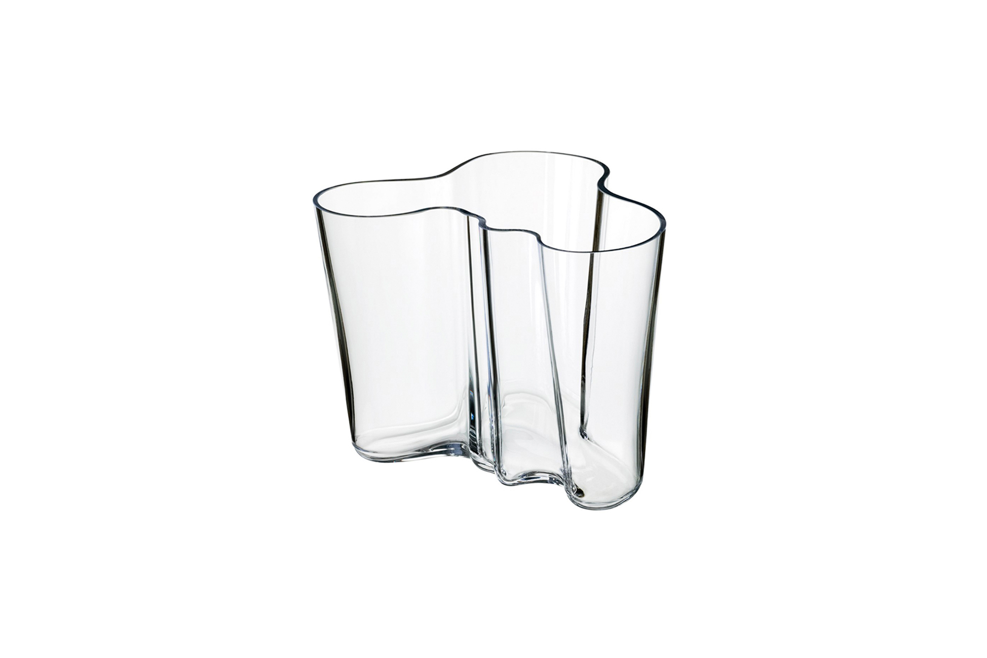 Alvar Aalto Savoy Low Vase