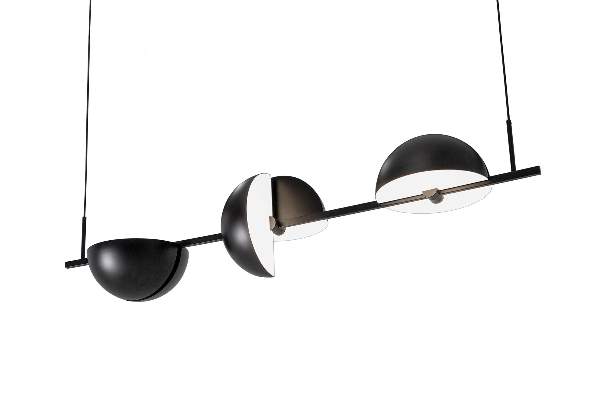 Trapeze Triplette Pendant Lamp
